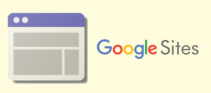 Logo de Google Sites