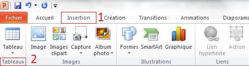 Comment insérer un tableau dans PowerPoint