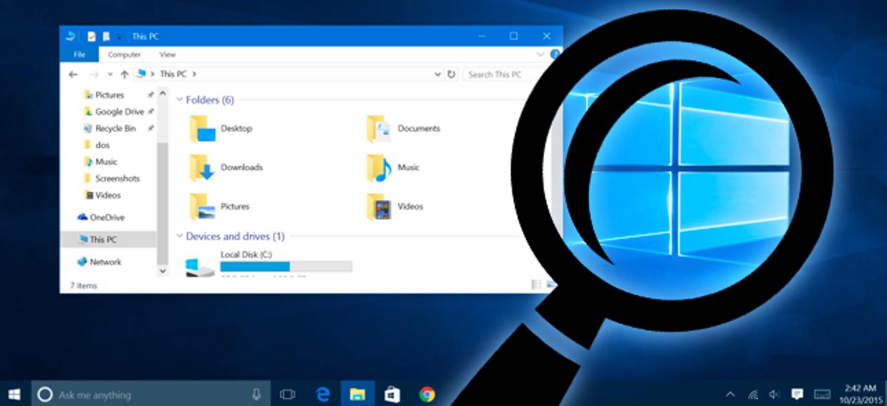 Accessibilité pour Windows 10